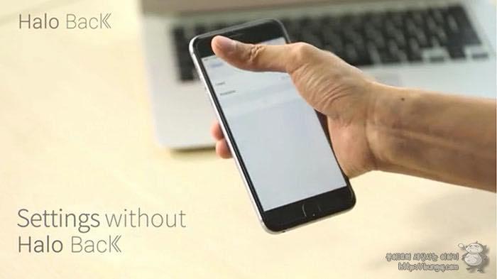 아이폰, 아이폰6, 백버튼, 뒤로가기 버튼, 보호필름