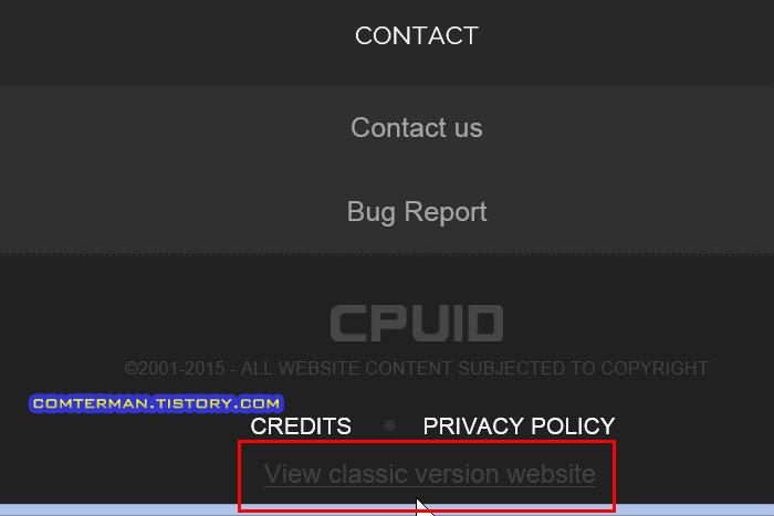 CPUID CPU-Z HWMONITOR PRO