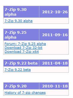 7zip 다운로드 및 사용방법 (zip파일 압축풀기)