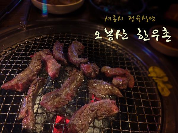 [세종시 맛집] 세종시 한우맛집 정육식당-오봉산 한우촌