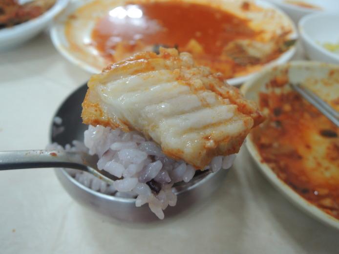 강릉먹거리 주문진시장 맛집 월성식당 장치찜