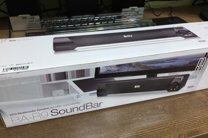 브리츠 스피커 Britz BA-R9 SoundBar 사용후기 리뷰 USB 전원공급 저렴한 사운드바 스피커 추천