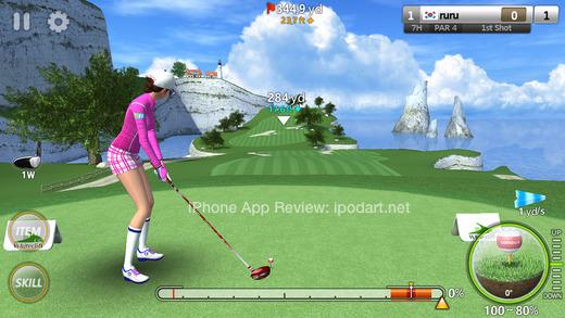 골프스타 아이폰 아이패드 추천 골프 게임
