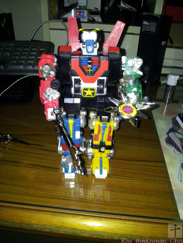 Blazing Sword and Shield-Matchbox Voltron
