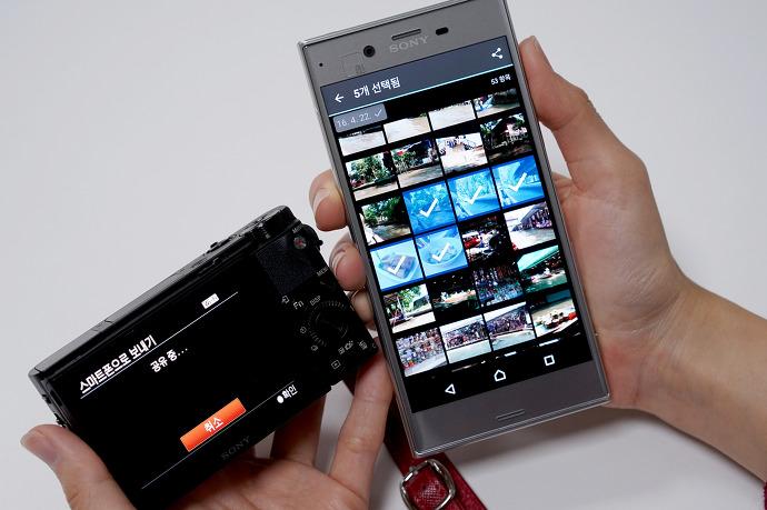 [플레이메모리즈 모바일] 스마트폰 이미지 전송 방법