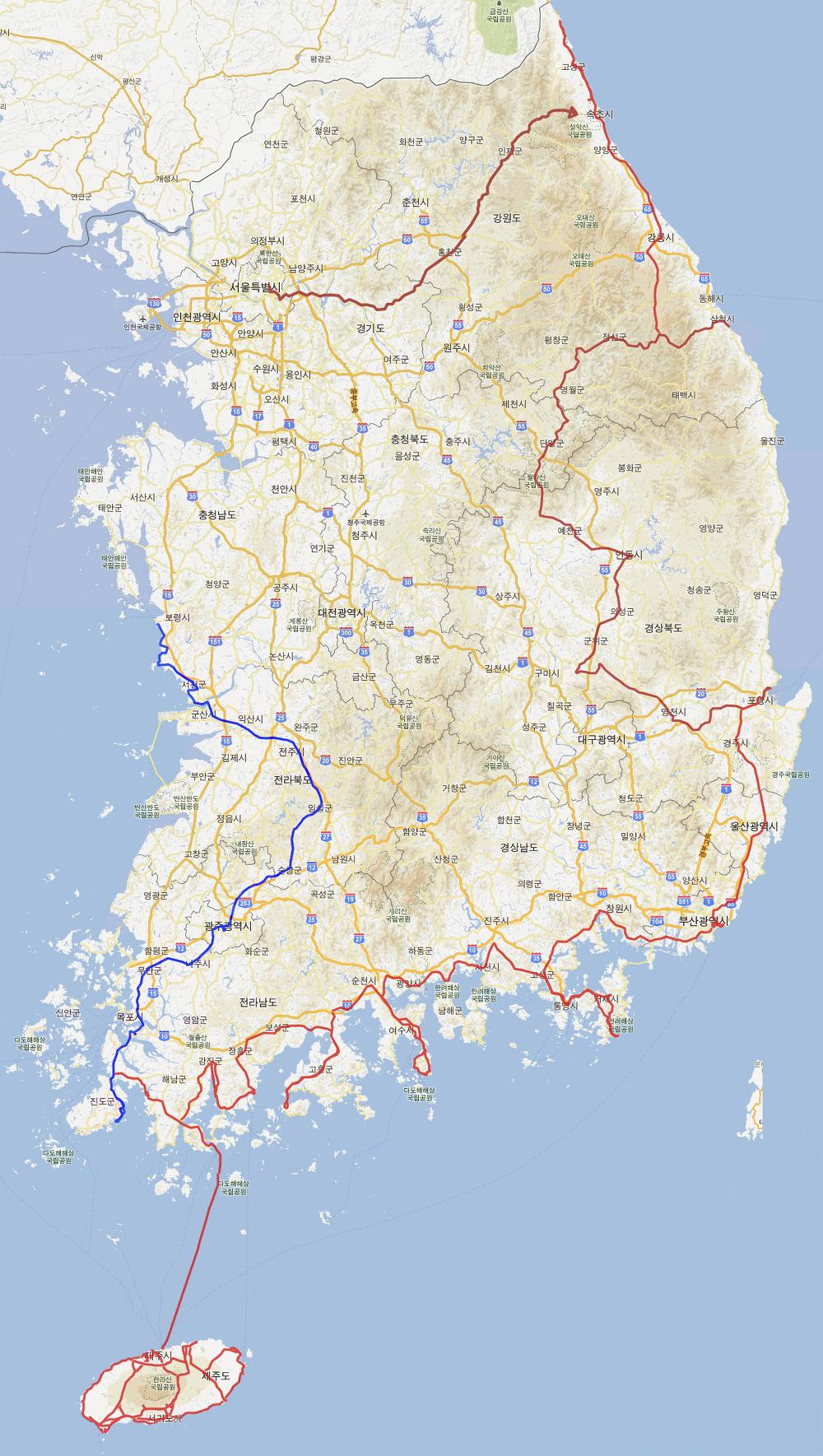 바이크로 달리자 - 16~17일차 :: 여행의 끝 : 244B9740527A8050037907