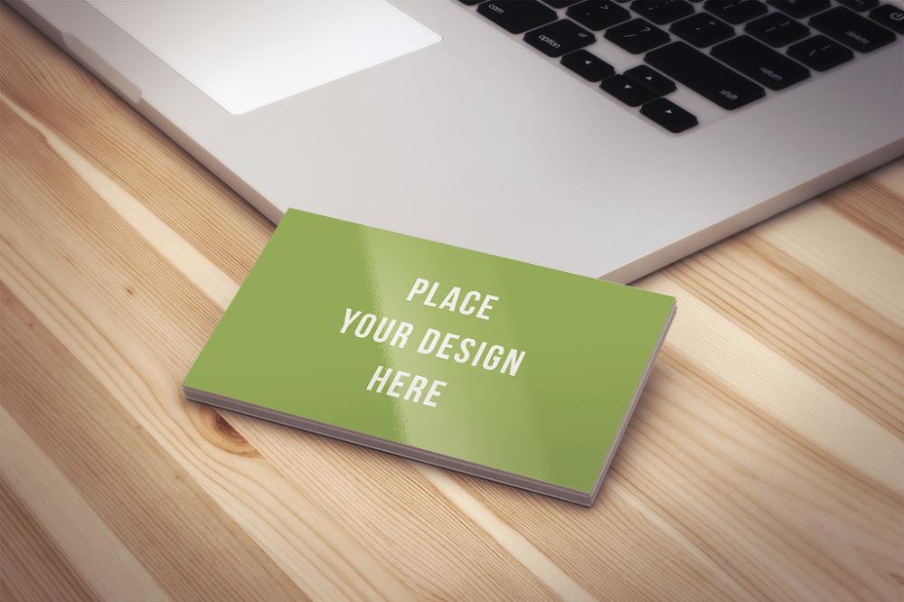 무료 명함 목업 PSD - Free Business Card Mockup PSD