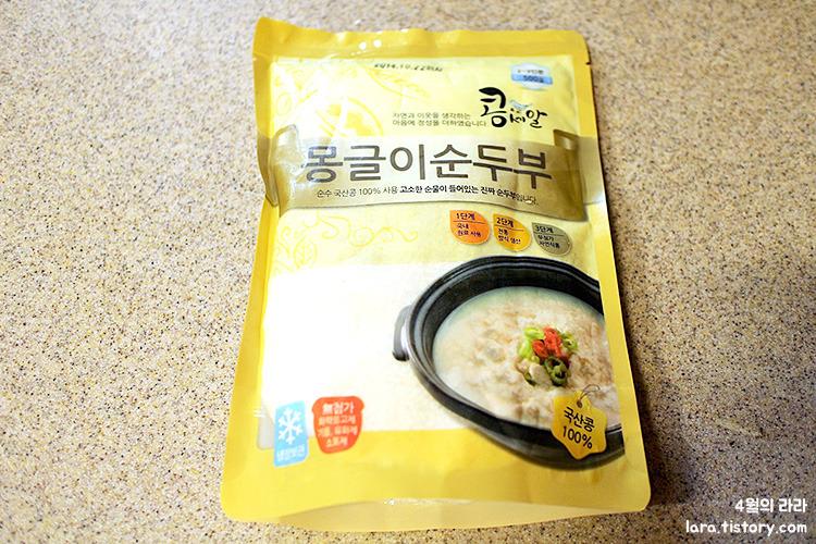 하얀순두부찌개끓이는법_두레생협_몽글이순두부
