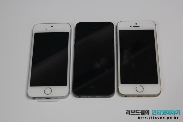 아이폰5S 색상비교 골드 vs 스페이스 그레이 vs 실버