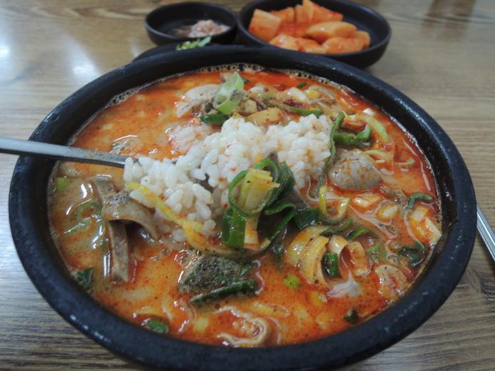 양구 맛집 옥천식당 내장국밥