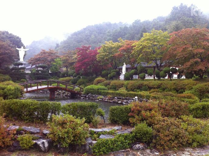 여름에서 가을로 넘어가는 제천 베론성지