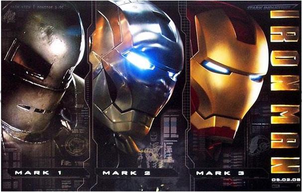영화 아이언맨 포스터 (출처: 네이버영화)