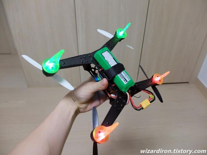 좌충우돌 초보의 RC 헬기 입문기 22 - Spedix 250 조립기 48