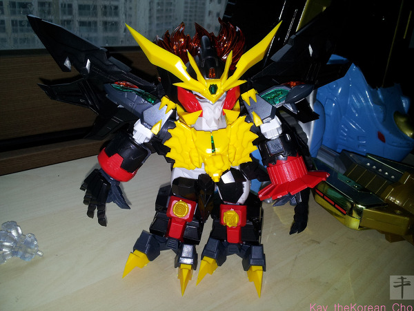 SD genesic gaogaigar-normal version finish