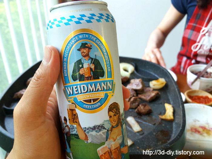 독일 밀맥주 바이드만 헤페바이스비어