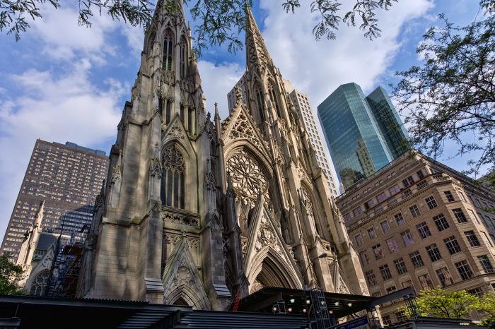 3. 세인트 패트릭 성당 St. Patrick's Cathedral 뉴욕 외관