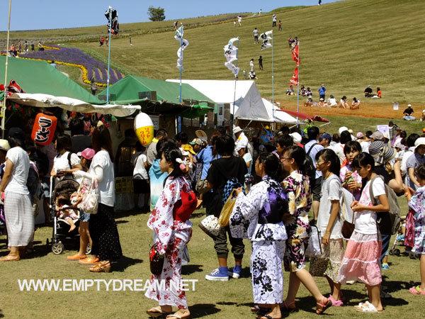 가미후라노 마쯔리 - 홋카이도 자전거 캠핑 여행 16
