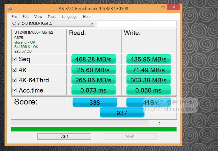 씨게이트 600 SSD 240GB 벤치마크, 씨게이트 SSD, 씨게이트 600 SSD, 600 SSD, IT, SSD, FLIR E40, 열화상카메라, 벤치마크, 크리스탈디스크마크, AS SSD, 240GB, 제품, 리뷰, 후기,씨게이트 600 SSD 240GB 벤치마크를 해봤습니다. Seagate SSD를 써봤지만 성능은 상당히 괜찮은 편이네요. TOSHIBA 19NM MLC 토글 낸드 플래시를 사용하며 LAMD LM87800AA 컨트롤러를 사용한 제품 입니다. Link A Media Devices의 성능을 알아보는것도 씨게이트 600 SSD 240GB 벤치마크의 중요한 포인트 인데요. 테스트를 위해서 처음에는 데이터 없는 클린한 상태에서 한번 테스트 후 그 후에는 데이터를 넣고 채워서 테스트를 했습니다. 물론 윈도우8 운영체제를 설치 후 OS로 부팅 한 상태에서 테스트도 진행을 했습니다.  씨게이트 600 SSD 240GB 벤치마크 결과로는 상당히 흡족하네요. 성능하락도 많이 일어나지 않는 모습을 보였구요. 최근에는 SSD를  128GB 정도선이 아닌 240GB 이상선을 많이 선택하는 추세이므로 용량이 부족해서 성능하락이 생기는 폭도 많이 줄어들것으로 보입니다. 지금은 SSD의 S-ATA3 인터페이스에서 거의 최고속도를 내고 있다고 봅니다. (일부 램의 영역을 활용하는 기술을 이용하는 SSD 제외) 2014년 부터는 PCI-E 타입의 SSD가 자리를 잡게 될텐데요. 성능은 점점 평준화가 되어가고 있고 이제는 중요한 요소가 가격부분이라고 생각됩니다. 하드디스크에서도 노하우가 있는 씨게이트의 앞으로의 활약이 기대됩니다.