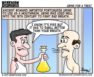 3. 로마 오줌 구강청결제