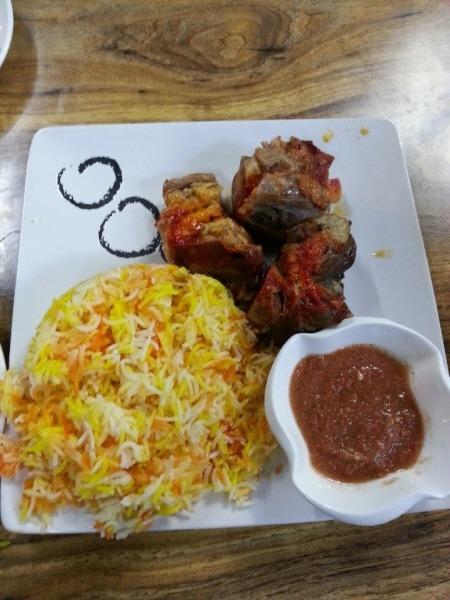 예멘 음식 - 만디
