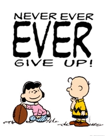 Give up ?