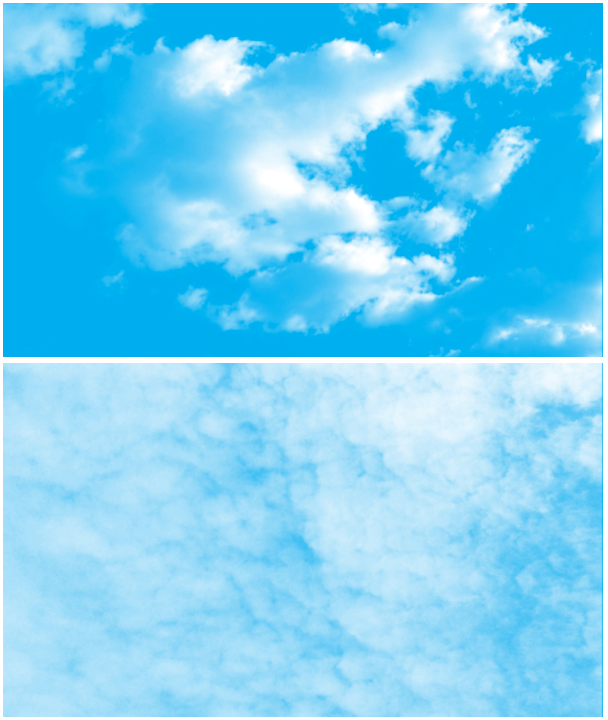 20 가지 고해상도 구름(Cloud) 포토샵 브러쉬 - 20 Free High-Resolution Cloud Photoshop Brushes