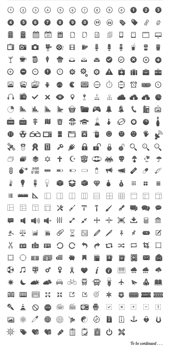 350 가지 픽셀 퍼펙트(pixel perfect) 벡터 아이콘 - 350 Free Vector Pixel Perfect Icons