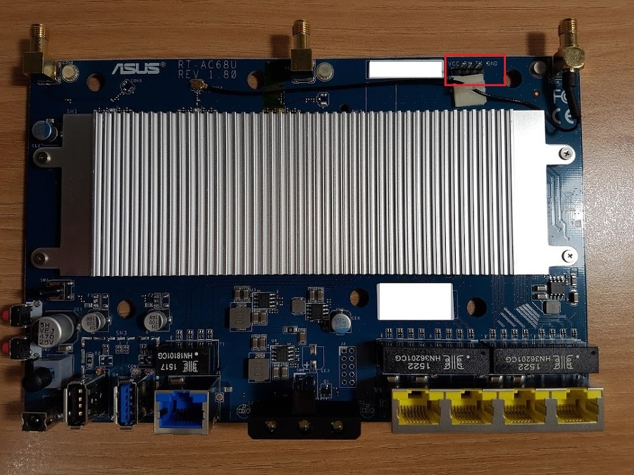ASUS TM-AC1900 (T-Mobile Wi-Fi CellSpot) 벽돌 복구하기