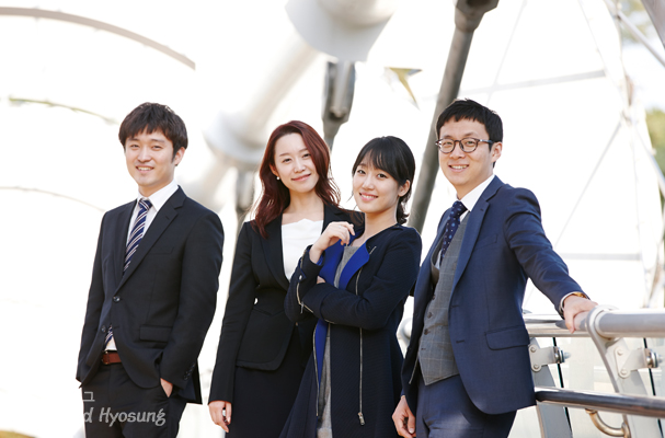 New Employees of Hyosung
