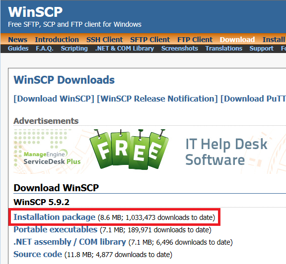 Wonbae Kim :: How to use SFTP by WinSCP
