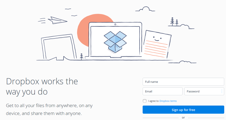 Dropbox free cloud storage