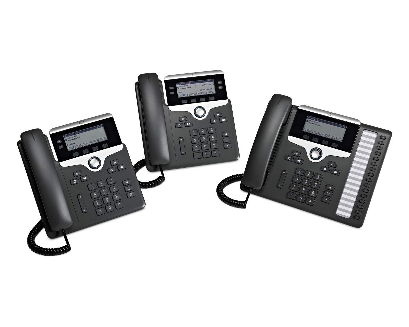 시스코 IP 폰 7800 시리즈
