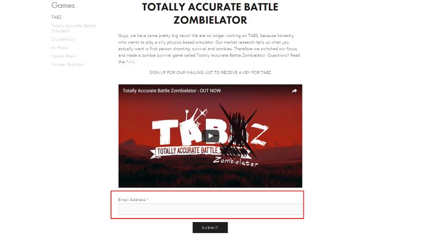 TABZ_Totally Accurate Battle Zombielator 토탈리 어큐레이트 배틀 좀비레이터
