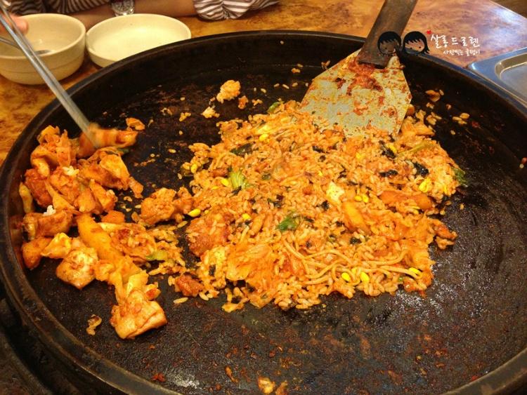 춘천 닭갈비 맛집 '청산닭갈비'10