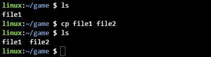 리눅스 cp 명령으로 파일 복사하기