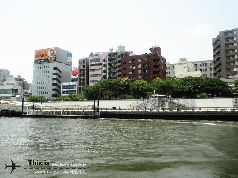 아사쿠사 수상버스 오다이바