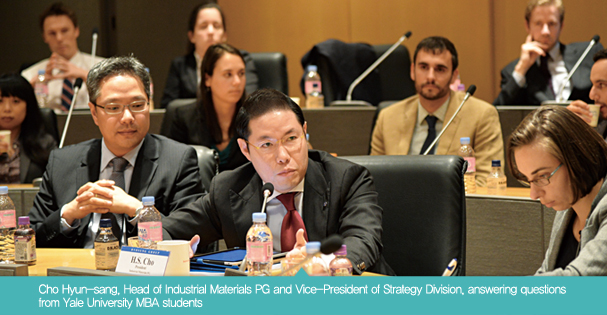 Cho Hyun-sang, Head of Industrial Materials PG and Vice-President of Strategy Division