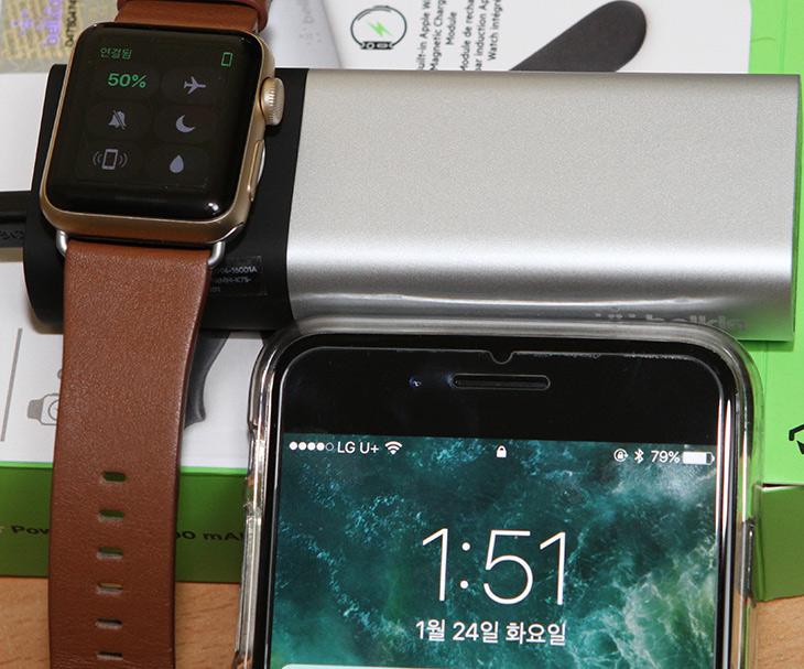 벨킨 ,Valet charger ,애플워치 충전, 아이폰7 충전,동시에,IT,IT 제품리뷰,야외에서 활동이 잦은 분에게 유용합니다. 간편하고 유용하니까요. 벨킨 Valet charger 애플워치 충전 아이폰7 동시에 충전하는 것을 보여드리겠습니다. 어떻게 보면 애플워치 무선충전 거치대를 보조배터리에 붙여버린 제품 입니다. 애플워치는 배터리 오래가는편이죠. 벨킨 Valet charger 애플워치 충전기를 이용하면 야외에서 충전기 없이 오랜 시간 지내야할 때 더 걱정없이 사용할 수 있습니다. 배터리 오래간다고 해도 알람이 자주 오면 빨리 배터리가 부족해지니까요.
