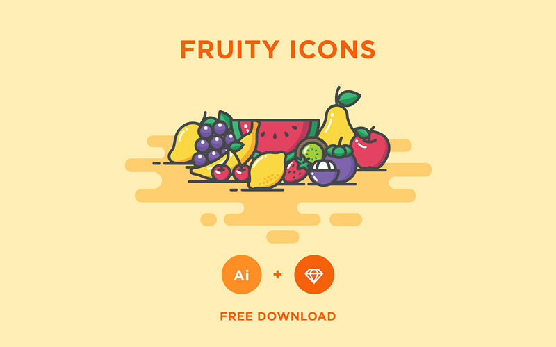 Free Fruity Icons