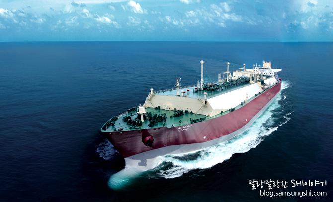 디젤엔진을 장착한 세계 최대 크기 LNG선_삼성중공업 건조