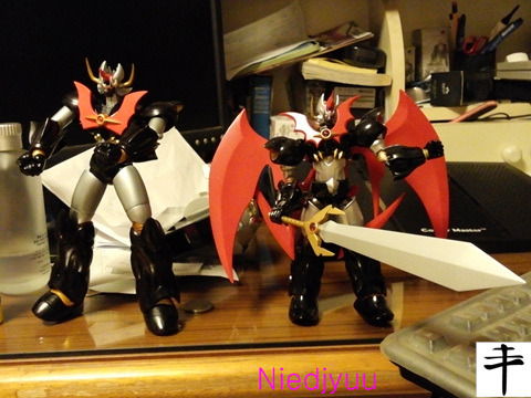 Mazinkaiser_Master Action vs super robot