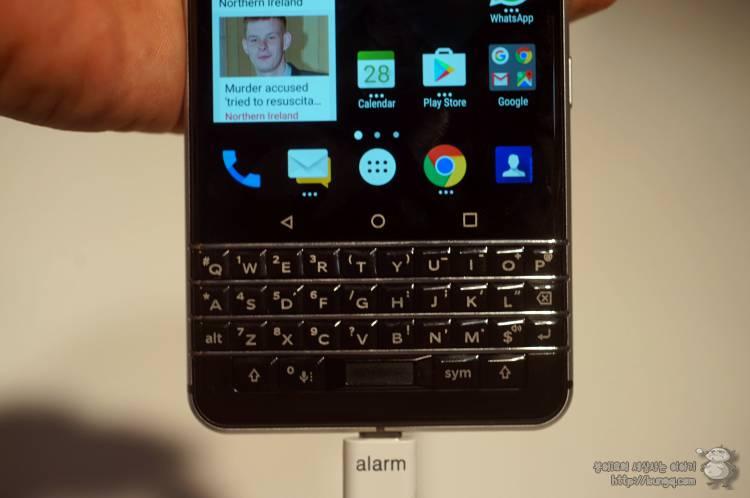 블랙베리, blackberry, keynone, 키원, 스펙, 첫인상, 후기