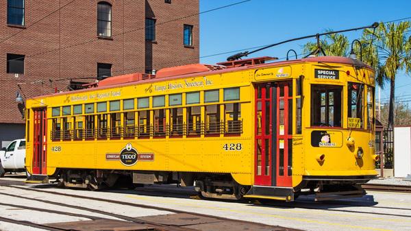 City trams Stock Photo 07
