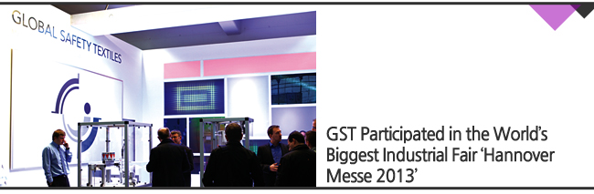 GST Participated in the World's Biggest Industrial Fair 'Hannover Messe 2013'