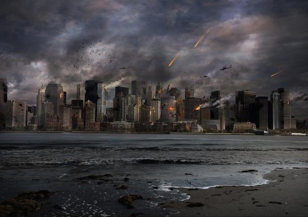 사진: 같은 예언을 가지고도 누구는 죽음을 예상하고 누구는 구원을 예상한다. 구원을 예상하는 측은 인류의 새로운 미래에 대한 희망을 가지고 있다. [요한계시록의 예언은 경고와 구원의 메시지]