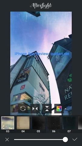 Afterlight 아이폰 추천 사진 편집 앱
