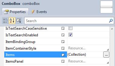 WPF ComboBox Item 추가하기 - WPF Story