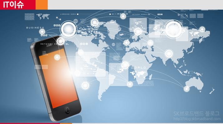 전 세계의 다양한 스마트폰 제조사