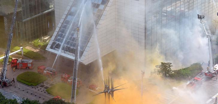 고층 건물 화재