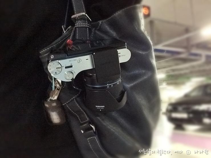 캡쳐프로, 카메라 홀더, 카메라 걸이,